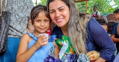 Prefeitura de Brasileia realiza Páscoa na comunidade no bairro Leonardo Barbosa