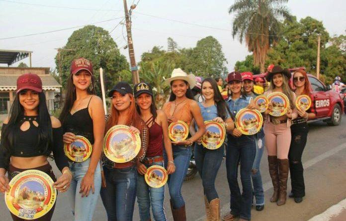 Candidatas a Garota Country 2019 realizam Blitz na Ponte José Augusto em Epitaciolândia