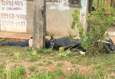 Gerente da Energisa em Brasiléia sofre acidente de moto fatal na BR 040 indo para Capital
