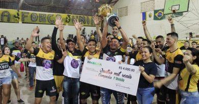Revolução F.C. se consagra campeão da 1ª Divisão do futsal brasileense
