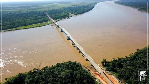 Acompanhe ao vivo a Inaguração da Ponte do Rio Madeira