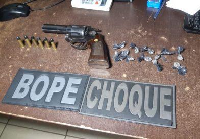 Bope prende homem com mais de 80 trouxinhas de cocaína