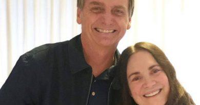 Bolsonaro convida Regina Duarte para a Secretaria da Cultura
