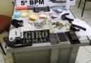 Em Brasiléia, PM prende homem por tráfico e apreende drogas, dinheiro e arma de fogo