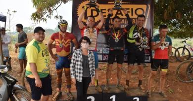 Ciclistas de Brasileia participam do 1º Desafio Mountain Bike