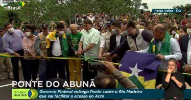 Histórico: Ponte do Rio Madeira é inaugurada