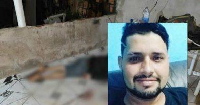 Garçom é assassinado com 6 tiros dentro da própria casa