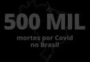 Brasil chega à marca de 500 mil mortes pela Covid-19