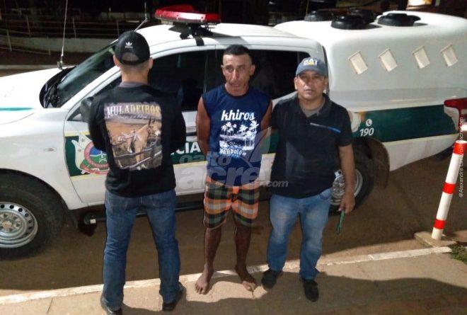 Assassino foragido é preso dentro da casa onde cometeu crime em Assis Brasil