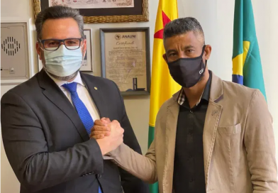 Alan Rick e ex-Flamengo Léo Moura vão abrir escola de futebol para crianças carentes no AC