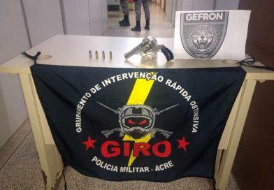 Polícia Militar e Gefron prendem um dos suspeitos em assassinato ocorrido em Epitaciolândia