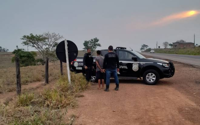 Polícia Civil apreende menor na BR 317 com maconha que seria comercializada em Xapuri